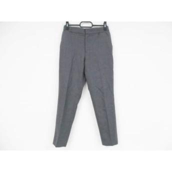 【中古】 ブルーレーベルクレストブリッジ パンツ サイズ36 S レディース 美品 グレー