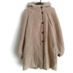 【中古】 ツモリチサト TSUMORI CHISATO コート サイズ2 M レディース ベージュ 冬物