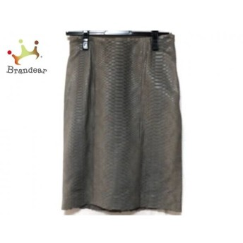 ダーマコレクション DAMAcollection スカート サイズ61-89 レディース グレー パイソン スペシャル特価 20190816