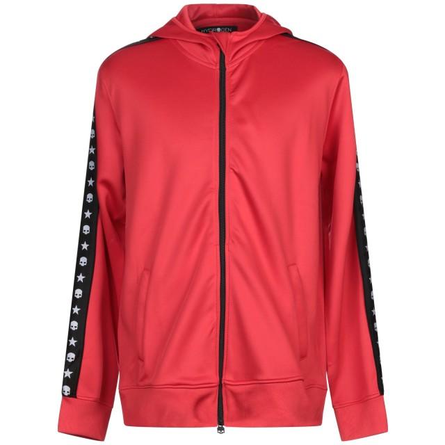 《セール開催中》HYDROGEN メンズ スウェットシャツ レッド XXL ポリエステル 94% / ポリウレタン 6%