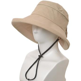 レディース 遮光遮熱広ツバ帽子