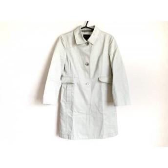 【中古】 トゥモローランド コート サイズ38 M レディース ライトグリーン 春・秋物/collection