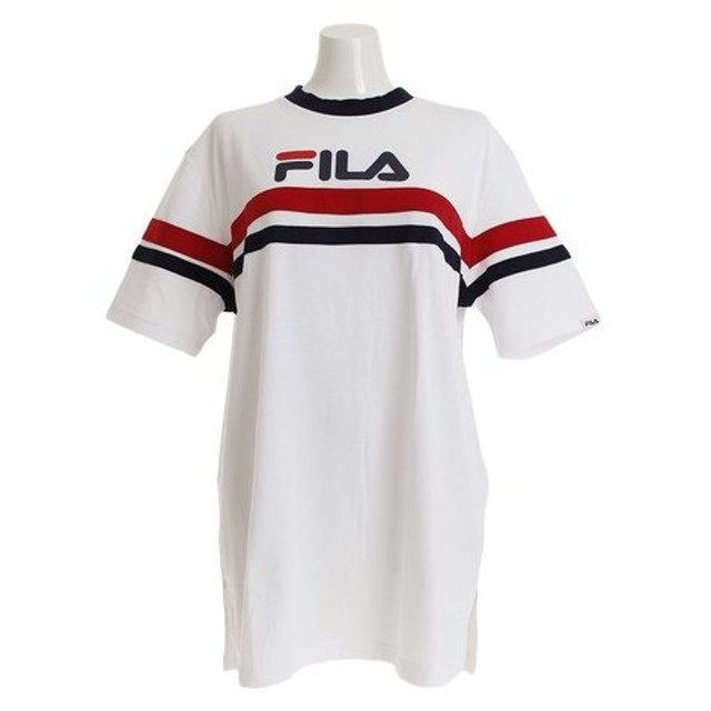 フィラ(FILA) BIG Tシャツ FL5444-01 (Lady's)