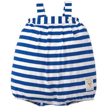 新生児 ロンパース だるま型 ネイビー ベビー・キッズウェア 新生児・乳児(50~80cm) カバーオール・ロンパース (173)