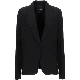 《期間限定セール開催中!》DENNY ROSE レディース テーラードジャケット ブラック 46 ポリエステル 63% / レーヨン 32% / ポリウレタン 5%
