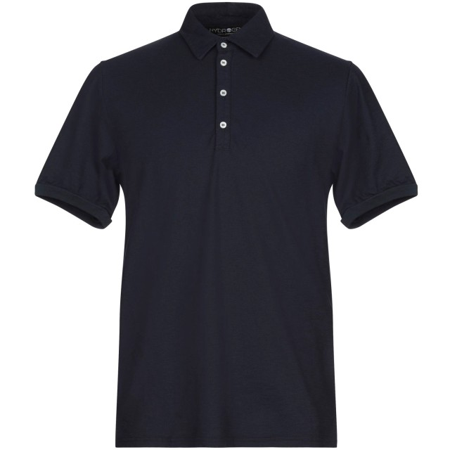 《セール開催中》HYDROGEN メンズ ポロシャツ ダークブルー XXL コットン 100%