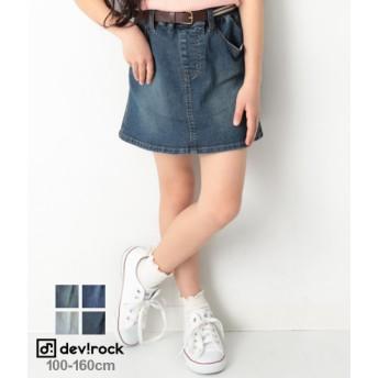 devirock デビロック デニムスカート キッズ