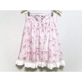 【中古】 アンジェリックプリティ Angelic Pretty スカート レディース ピンク リボン