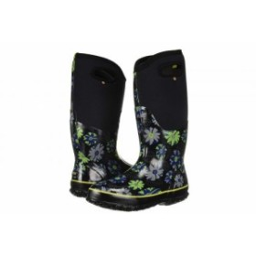 Bogs ボグス レディース 女性用 シューズ 靴 ブーツ レインブーツ Classic Tall Winter Floral Black Multi【送料無料】