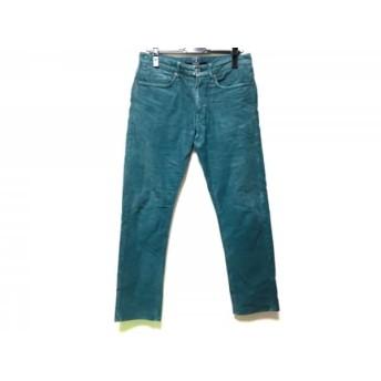 【中古】 インコテックス INCOTEX パンツ サイズ31 メンズ グリーン