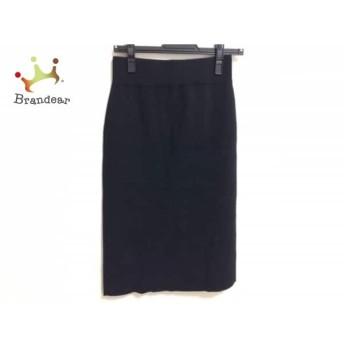 ミラオーウェン Mila Owen スカート サイズ0 XS レディース 黒 ニット スペシャル特価 20190805