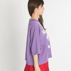 Tシャツ - WEGO【WOMEN】 メッシュナンバリングTシャツ BR18SM04-L031