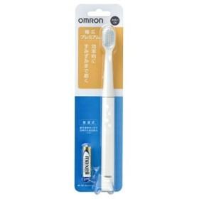 オムロン 音波式電動歯ブラシ HT-B222-W ホワイト (1台) 乾電池式