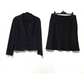 【中古】 ミントブリーズ MINT BREEZE スカートスーツ サイズ17 XL レディース 黒