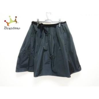 ジユウク 自由区/jiyuku スカート サイズ38 M レディース 新品同様 黒 リボン スペシャル特価 20190904
