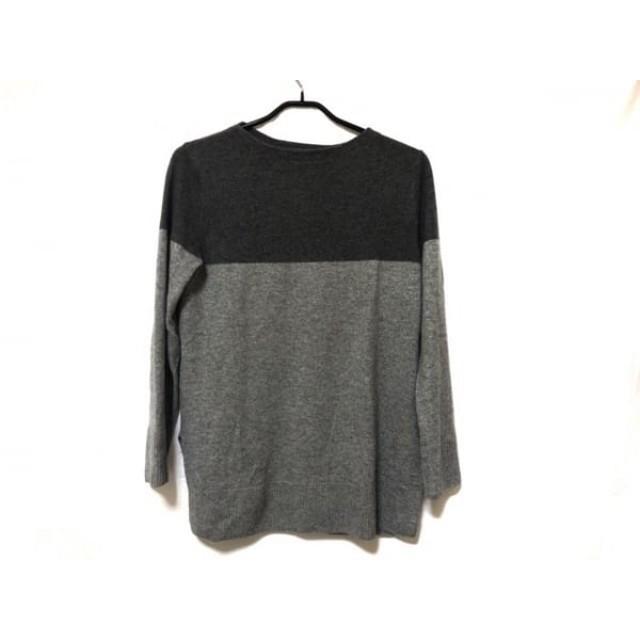 【中古】 ジユウク 自由区/jiyuku 長袖セーター サイズ38 M レディース ライトグレー グレー