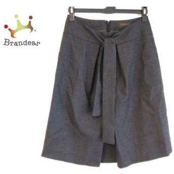 トゥモローランド スカート サイズ36 S レディース ダークグレー collection/ボックスプリーツ スペシャル特価 20190816