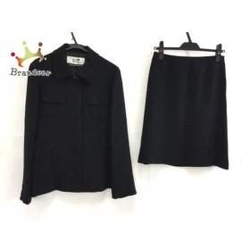 ニジュウサンク 23区 スカートスーツ サイズ40 M レディース 美品 黒   スペシャル特価 20190725