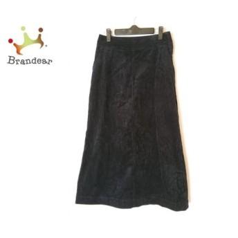 ミラオーウェン Mila Owen ロングスカート サイズ0 XS レディース 黒 コーデュロイ スペシャル特価 20190805