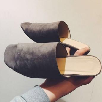 ★女性の靴c094★スタイリッシュな洗練されたミュールスリッパHT6812 Pretty and stylish women & #39 s shoes fashion