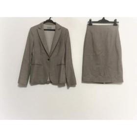 【中古】 セオリーリュクス theory luxe スカートスーツ サイズ38 M レディース ベージュ