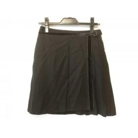 【中古】 ロイスクレヨン Lois CRAYON スカート サイズM レディース ダークグレー