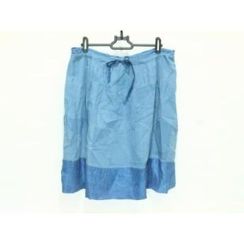 【中古】 ドーサ dosa スカート サイズ1-2 レディース ブルー