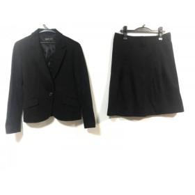 【中古】 インディビ INDIVI スカートスーツ レディース 黒