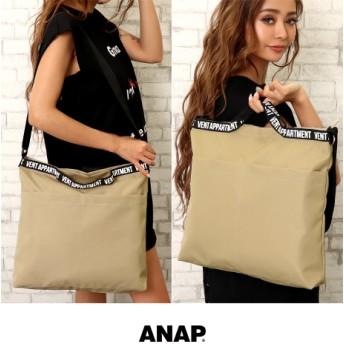 ANAP(アナップ)プリントテープショルダーバッグ