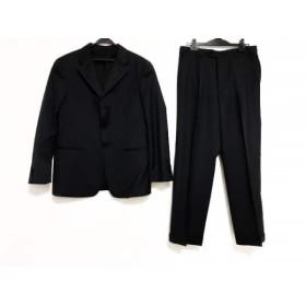 【中古】 アルマーニコレッツォーニ シングルスーツ サイズ48 M メンズ ネイビー グレー