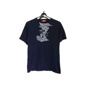 【中古】 マッシュマニア mash mania 半袖Tシャツ レディース 51208-00 ネイビー