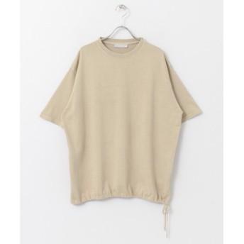 SENSE OF PLACE by URBAN RESEARCH / センスオブプレイス バイ アーバンリサーチ ヘムデザインTシャツ(5分袖)