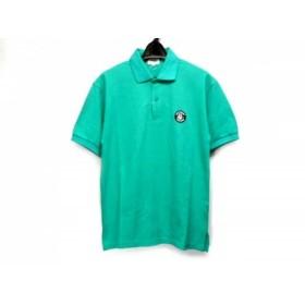 【中古】 シナコバ SINACOVA 半袖ポロシャツ サイズS メンズ 美品 ライトグリーン LUPO DI MARE