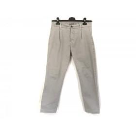【中古】 シビリア SIVIGLIA パンツ サイズ30 メンズ ライトグレー