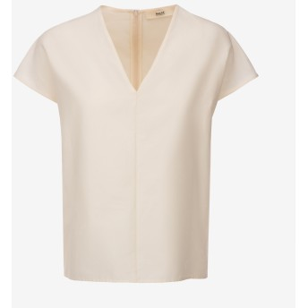 Sleeveless Nastro Jacquard Shirt ホワイト