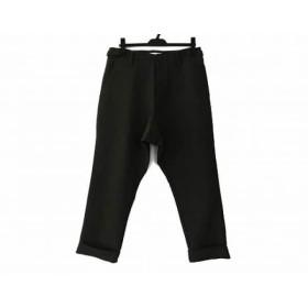 【中古】 スタジオニコルソン STUDIO NICHOLSON パンツ サイズ1 S レディース 美品 ダークグリーン