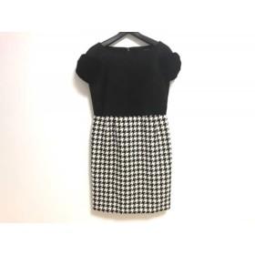【中古】 ダブルスタンダードクロージング DOUBLE STANDARD CLOTHING ワンピース レディース 白 黒
