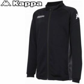 カッパ サッカー Jrニットフルジップジャケット ジュニア KF9A2KT16-BK