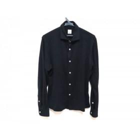 【中古】 バルバ BARBA 長袖シャツ サイズ40 M メンズ 美品 黒