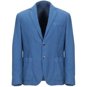 《期間限定セール開催中!》RODA メンズ テーラードジャケット ブルー 50 コットン 80% / ナイロン 20%