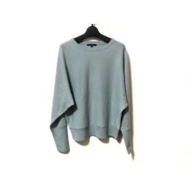 【中古】 ニジュウサンク 23区 長袖セーター サイズ38 M レディース ライトグリーン