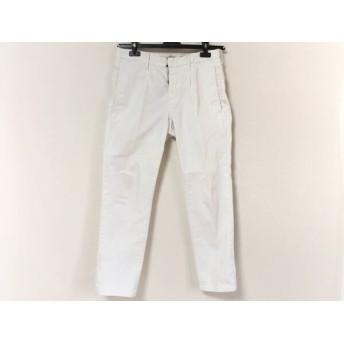 【中古】 インコテックス INCOTEX パンツ サイズ30 メンズ アイボリー
