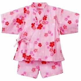 [キッズ]ミキハウス ホットビスケッツ 甚平スーツ ピンク ベビー・キッズウェア キッズ(100~120cm) 甚平・ゆかた(女児) (6)