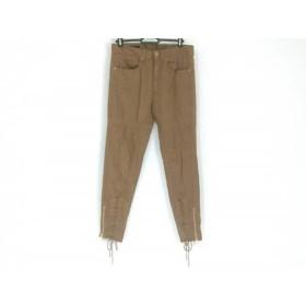 【中古】 グッチ GUCCI パンツ サイズ36 S レディース ブラウン