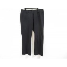 【中古】 ボンサンス Bon Sens パンツ サイズ40 M レディース 黒
