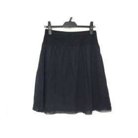 【中古】 アンテプリマ ANTEPRIMA スカート サイズ38 S レディース 美品 黒 ラメ