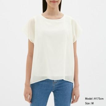 GU シアーデザインTシャツ