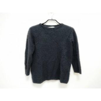 【中古】 ジユウク 自由区/jiyuku 長袖セーター サイズ38 M レディース ダークグレー カシミヤ