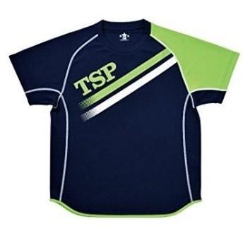 TSP TT-175_シャツ (033407) [色 : ネイビー/ライム] [サイズ : L]