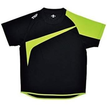 TSP TT-180シャツ (033408) [色 : ブラック/ライム] [サイズ : 2XS]